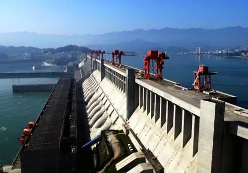 三峡水电站地电